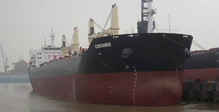 El MV Chesire sigue a la deriva al sur de Gran Canaria y se intentará enfriar la carga