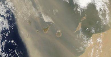 Tenerife colabora con la NASA para conocer el efecto de la calima en la salud de los americanos