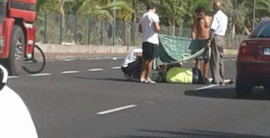 Un ciclista herido de carácter moderado tras sufrir una caída en La Palma