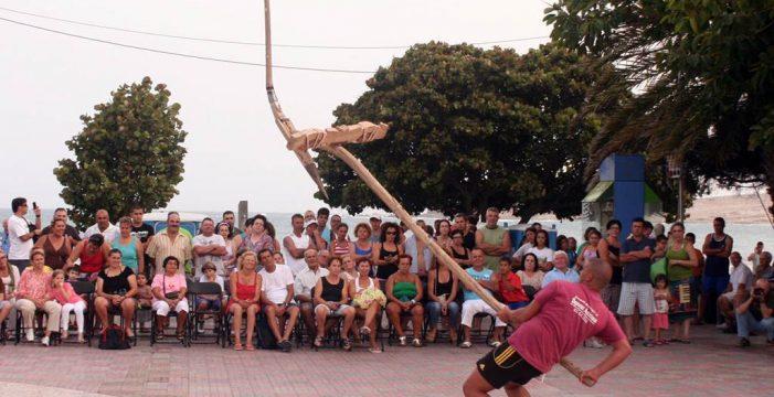 El Médano acoge la fiesta de los juegos  y deportes autóctonos