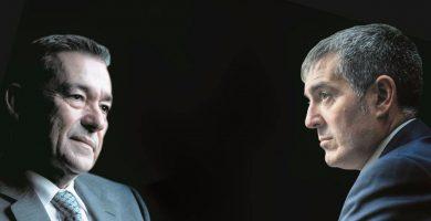 """Paulino Rivero critica la """"debilidad"""" de CC en Canarias y Madrid tras perder la censura de Icod"""