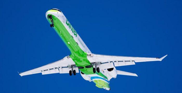 Cancelan cinco vuelos y se desvían cuatro aviones en La Palma por el viento