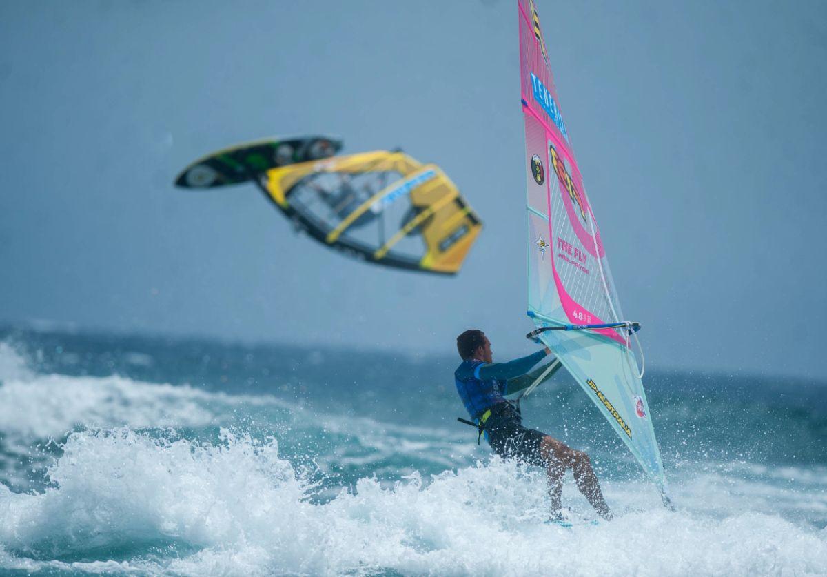 Momentos durante la Copa Mundial de Windsurf de la PWA en El Médano, en Tenerife | Fran Pallero