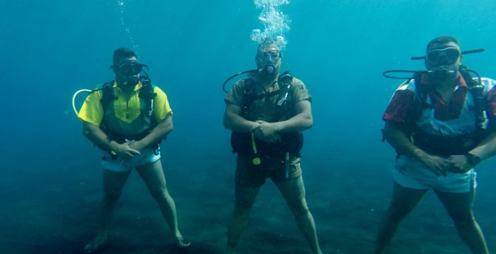 Levantada la restricción para hacer buceo en la Reserva Marina de El Hierro