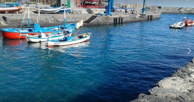 Puerto de la Cruz constata que el muelle ya está libre de microalgas