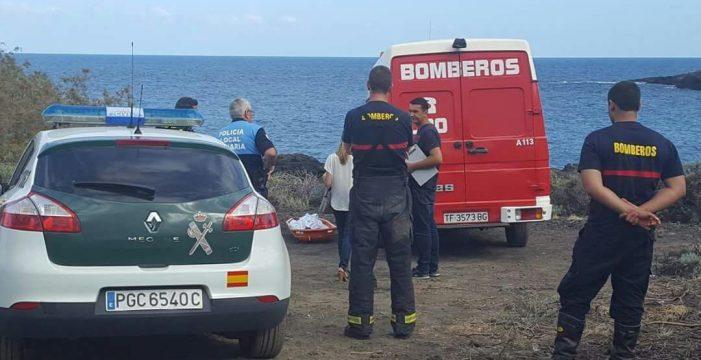 Encuentran el cuerpo sin vida de un hombre en la playa de El Pocito de Mazo
