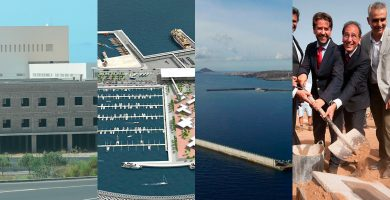 Las obras de nunca acabar en el Sur de Tenerife