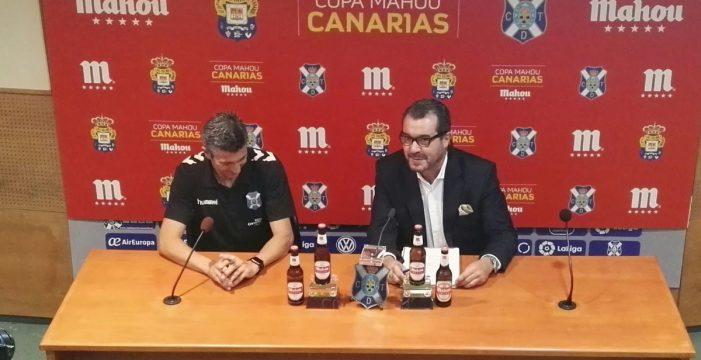 El CD Tenerife y Mahou presentan una nueva edición de la Copa Mahou