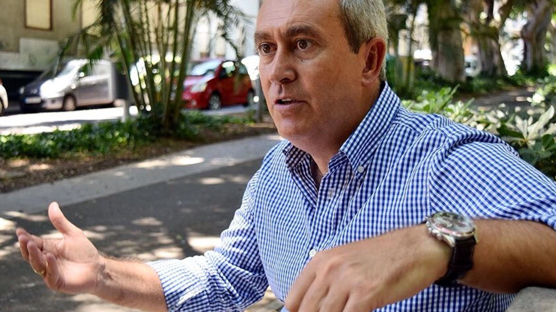 Óscar García (PP), concejal de Asuntos sociales de Santa Cruz. DA