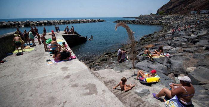 La playa 'nueva' de San Andrés