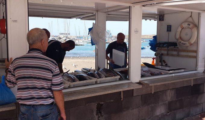 Pescadores de Las Galletas exigen no tener que llevar sus capturas a Arico para vender
