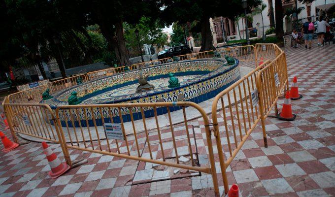 La plaza de Los Patos ya tiene quien la arregle