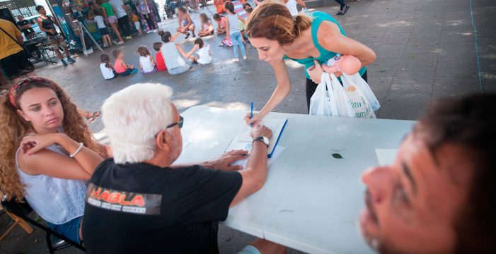 San Andrés logra las 500 firmas para pedir un parque infantil al Ayuntamiento