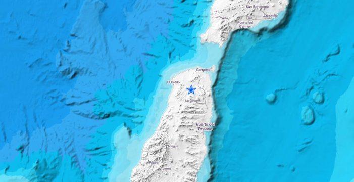 Un terremoto de 2.9 sacude el norte de Fuerteventura