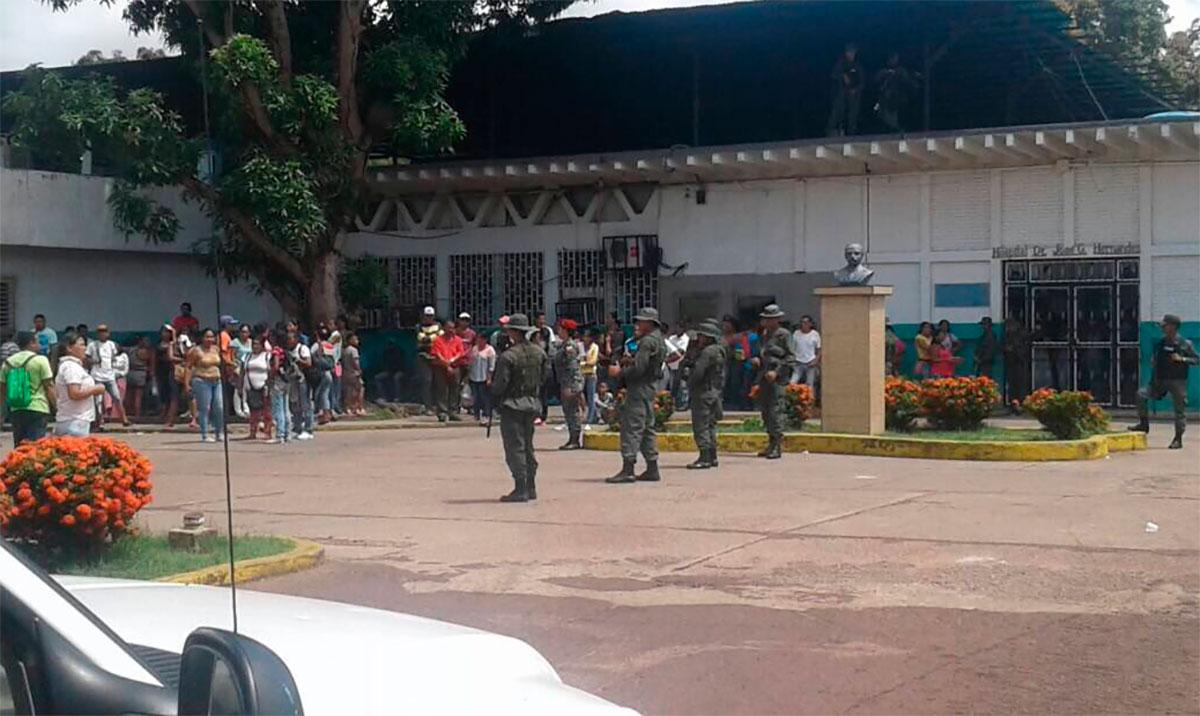 VENEZUELA CÁRCEL AMAZONAS MOTÍN