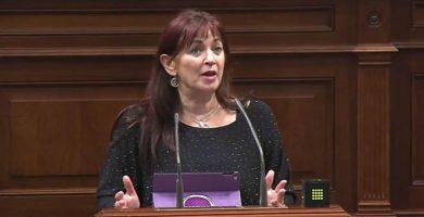 María del Río, diputada de Podemos por Lanzarote   DA