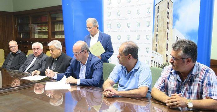 3,6 millones en 6 años para restaurar patrimonio de la Iglesia en La Palma