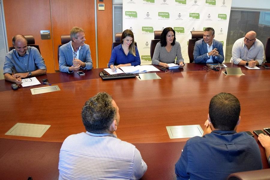 Reunión del Consejo Rector de Urbanismo del Ayuntamiento de Santa Cruz de Tenerife | DA