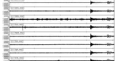 El nuevo terremoto en México, registrado por INVOLCAN