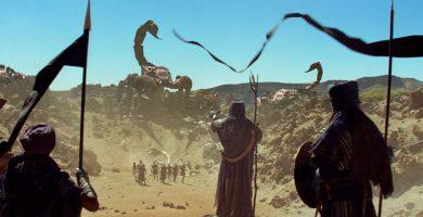 Imagen de la película Furia de Titanes que fue rodada en Tenerife   DA