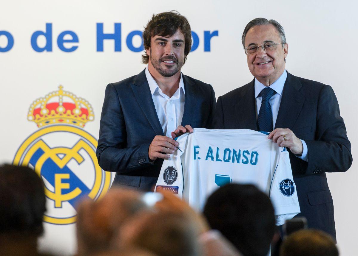 Fernando alonso nombrado socio de honor del real madrid for Oficina atencion al socio real madrid
