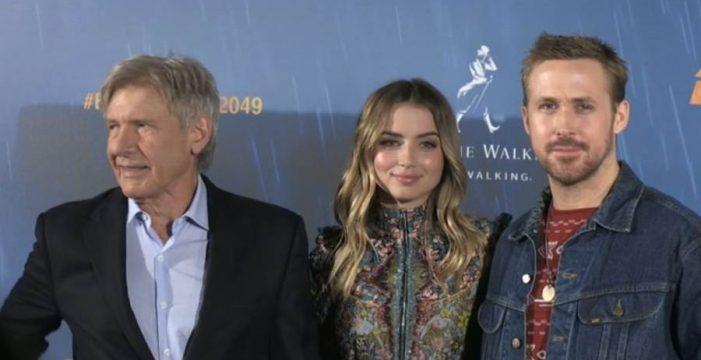 Harrison Ford y Ryan Gosling presentan 'Blade Runner 2049' en Madrid