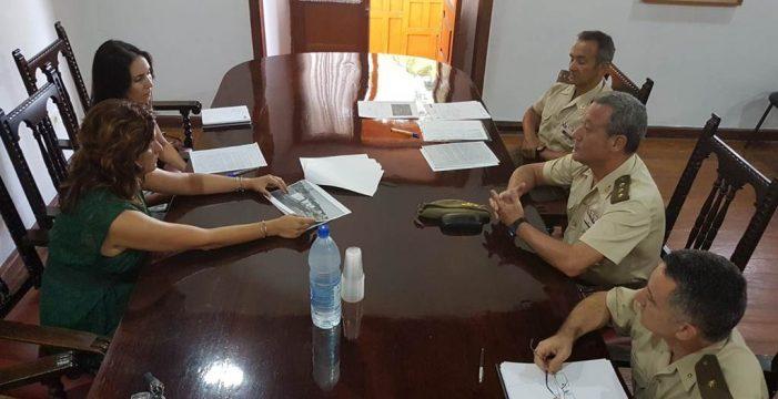 El Ejército devuelve una parcela de 209.000 metros cuadrados en Izaña al Ayuntamiento de Güímar