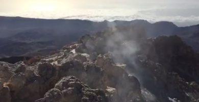 Cráter del Teide | FACEBOOK (Volcanes de Canarias)
