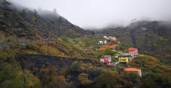 """Califican el incendio en Gran Canaria de """"estable""""; 2.779 hectáreas afectadas"""