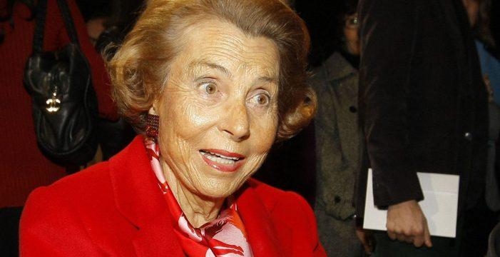 Muere Liliane Bettencourt, heredera del L'Oréal y mujer más rica del mundo