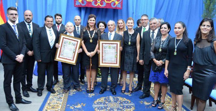 Güímar distingue a Félix José Castro como concejal honorario