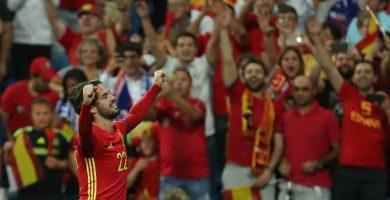 Isco lidera la gran victoria de España ante Italia