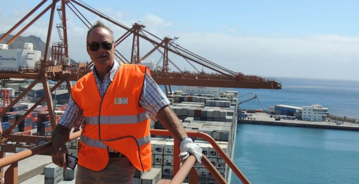 """""""El puerto de Santa Cruz de Tenerife está ante una oportunidad única"""""""