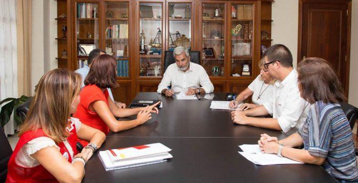 Convenio con Cruz Roja para luchar contra la exclusión social