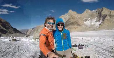 Así ha sido la expedición del alpinista canario a la cima virgen del Himalaya