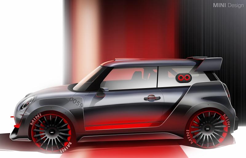Mini Cooper Rims >> MINI John Cooper Works GP Concept: deportividad sin concesiones