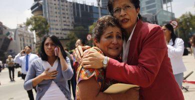 Al menos 92 muertos en el terremoto que ha sacudido México