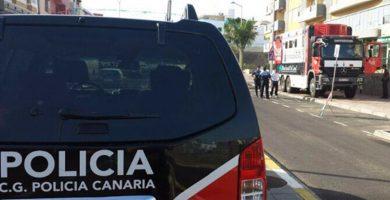 Vehículo de la Policía Canaria. | DA
