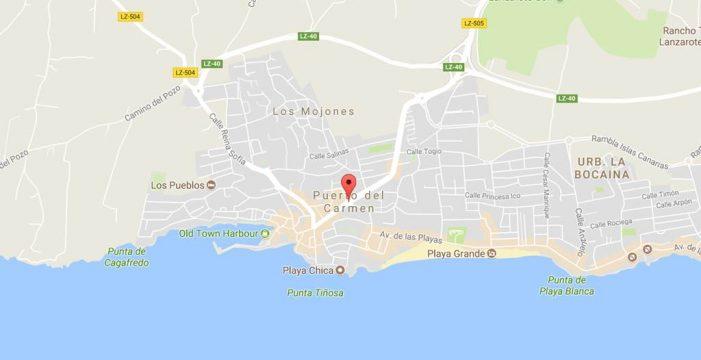 Detenido por dos tirones de bolso desde un vehículo en Puerto del Carmen