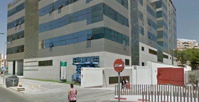 Juzgado de lo Penal 1 de Almería. Google Earth