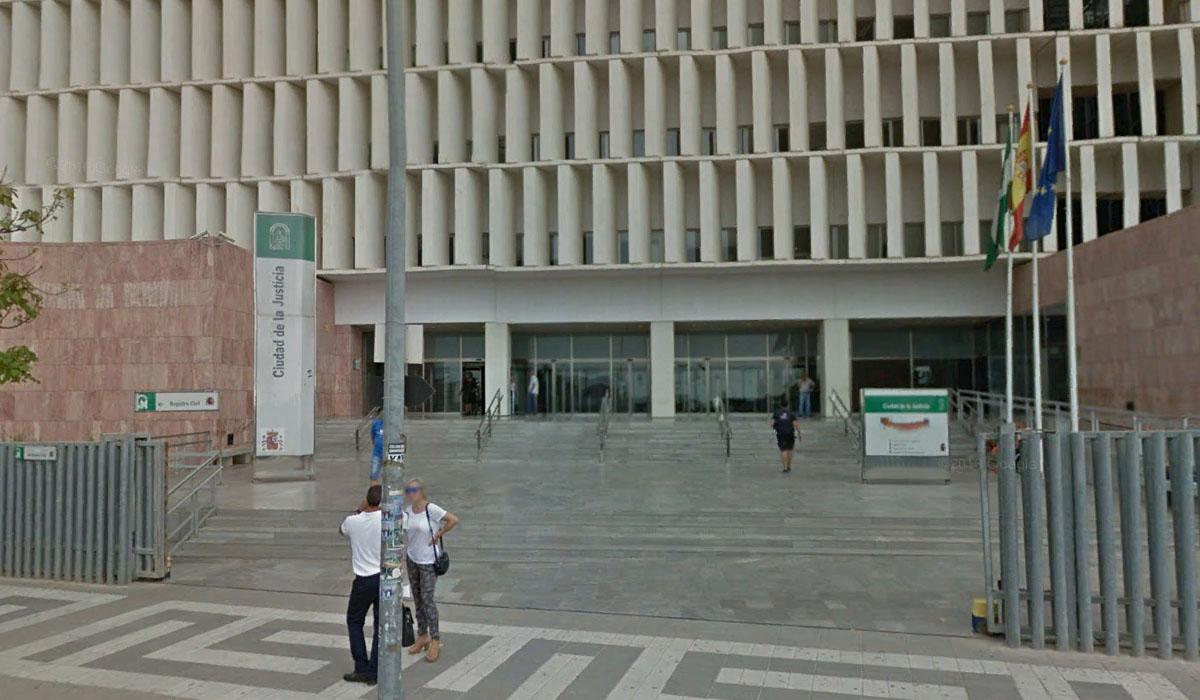 Juzgado de lo Penal de Málaga. Google Earth