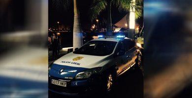 Detenido por agredir a varios policías que le pararon por exceso de velocidad