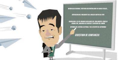 La oposición le pone deberes al presidente Clavijo