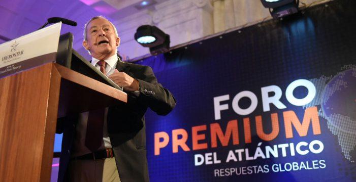 Exministro Carlos Solchaga, protagonista de un nuevo Foro Premium de Atlántico