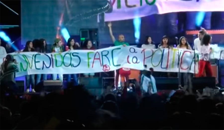 FARC POLÍTICA CONCIERTO