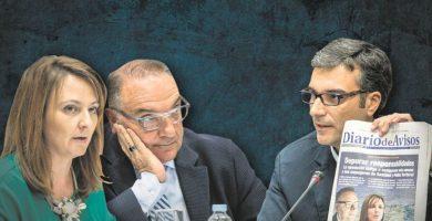 El Gobierno de Clavijo se pasa a  la ofensiva y la oposición le da un repaso