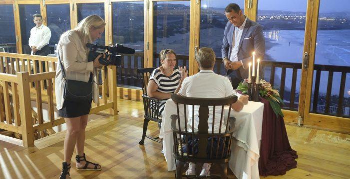 La televisión checa graba un capítulo de 'Cambio de familias' en Fuerteventura