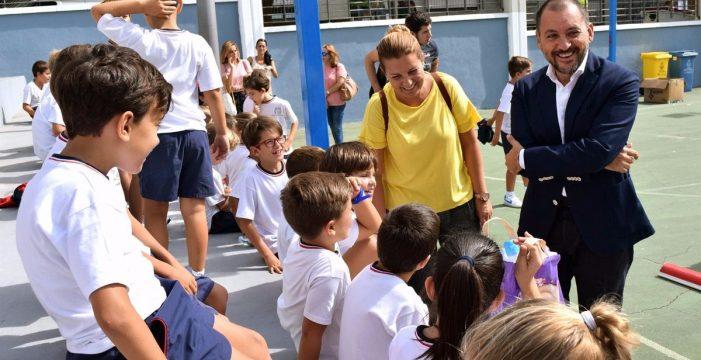 Más de 800 escolares participan en la 'Semana de la Movilidad Sostenible' en El Toscal