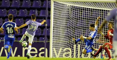 El Tenerife sufre en Valladolid la primera derrota de la temporada (2-0)