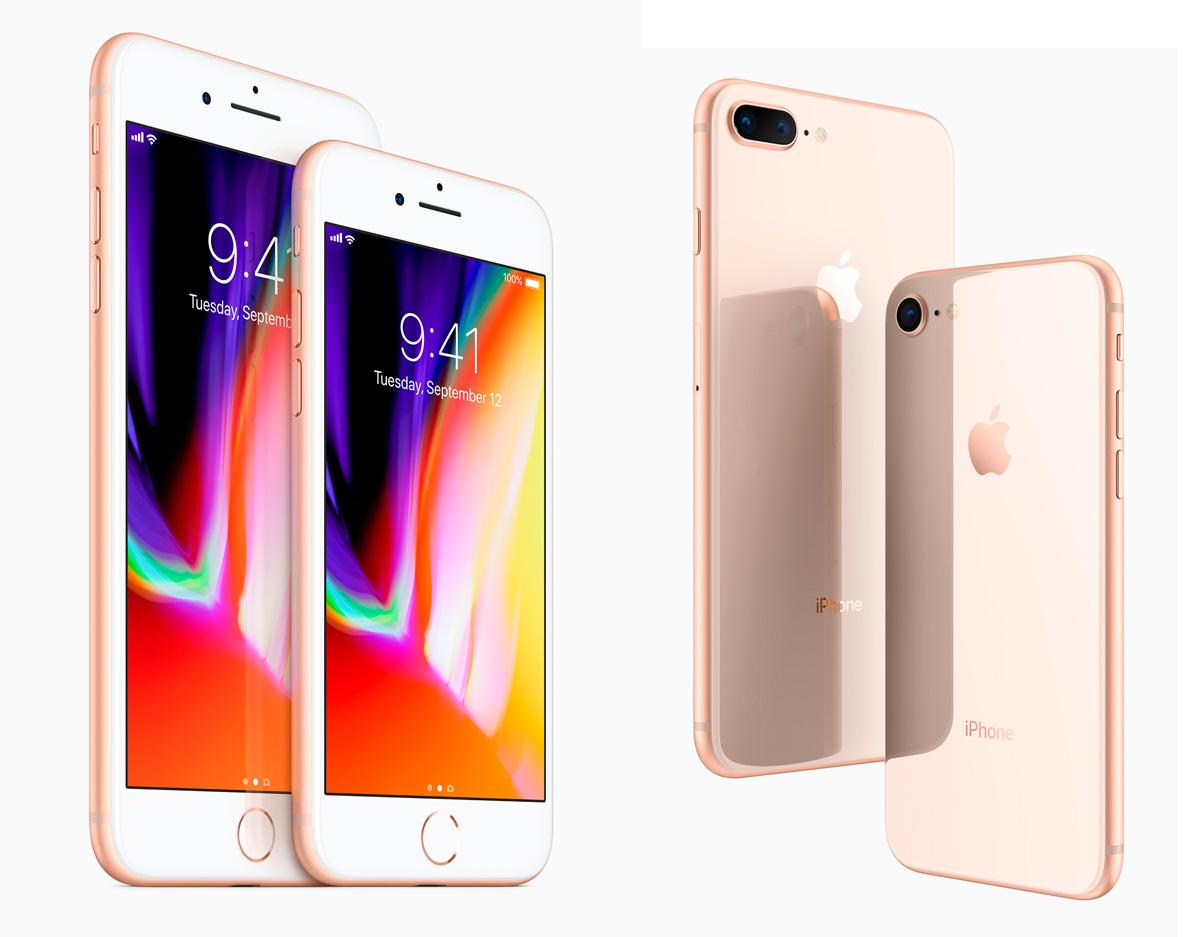 iPhone 8 Plus y iPhone8